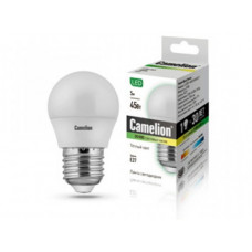Camelion Шар LED5-G45/830/E27 (Эл.лампа светодиодная 5Вт 220В)