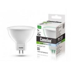 Лампа светодиодная нейтральная JCDR 5Вт 220В Camelion LED5-S108/845/GU5.3