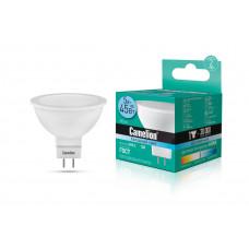 Лампа светодиодная JCDR 5Вт нейтральный 12В AC/DC Camelion LED5-MR16/845/GU5.3