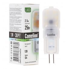 Лампа светодиодная JC 1.5Вт нейтральный 12В AC/DC Camelion LED1.5-JC/845/G4