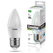 Лампа светодиодная Свеча 7Вт 220В Camelion LED7-C35/830/E27