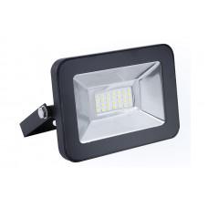 Прожектор светодиодный черный 10Вт 6500К 230В Ultraflash LFL-1001