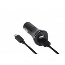 Автомобильное Зарядное Устройство 2*USB 2400mA - чёрный Reddax RDX-103