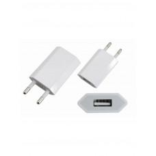 Сетевое зарядное утройство iPhone/iPod/Ipad USB белый (5V, 1000 mA) Rexant (1/10/500)