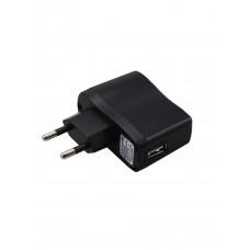 Сетевое зарядное утройство USB 220V (5V 1000mAh ) черное Rexant (1/10/200)