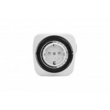 Розетка с механическим таймером RX-28 бел REXANT (1/1/48)