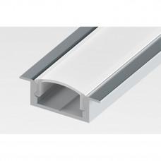 Профиль врезной алюминиевый LC-LPV-0722-2 Anod 2м.