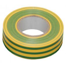 Изолента ПВХ 0,13х15х20м желто-зелёная