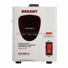 Стабилизатор 1ф 500Вт цифровой переносной (от 140В до 260Вт) Rexant (1/1)